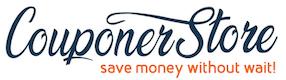 CouponerStore.com logo