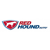 Red Hound Auto Logo